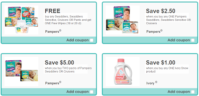 Canada Freebies Eh 4 Hidden Coupons Ivory Pampers Order Yours