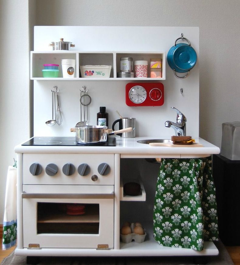 25 Ideas Recycling Furniture For Diy Kids Play Kitchen Designs Diy Kids Kitchen Diy Play Kitchen Childrens Kitchens