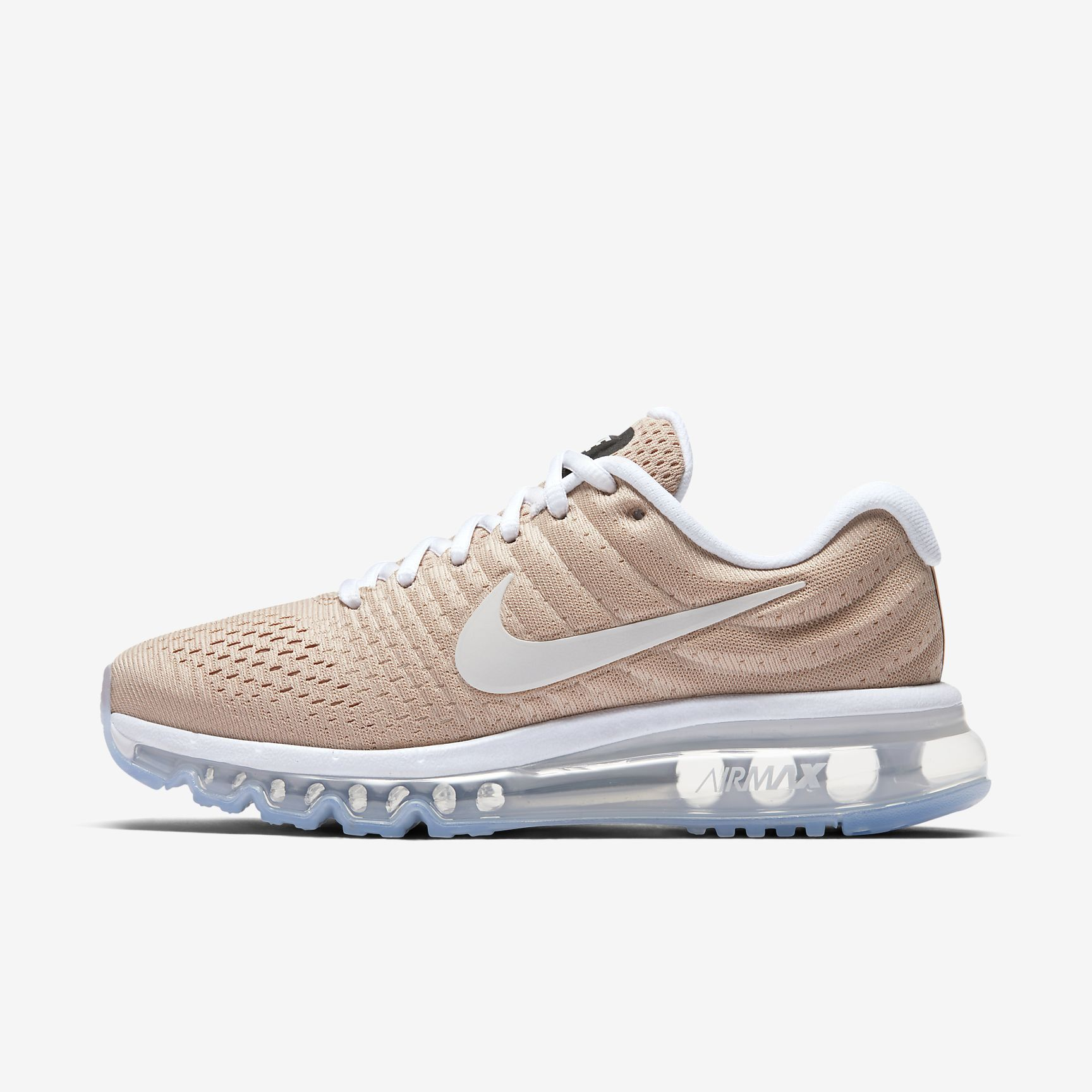 nouvelle collection c5add c88a6 Chaussures Femme AIR MAX 2017 Beige bio/Blanc | nike-air-max ...