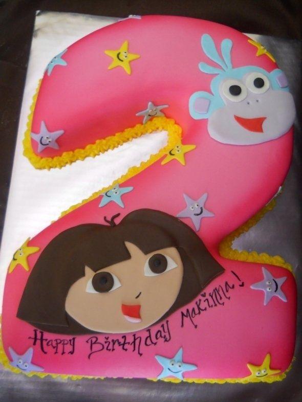 Cute Dora Cake Creative Cakes Oh My Pinterest Dora cake