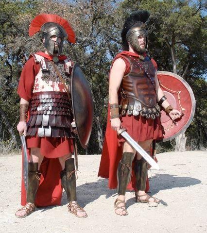 Greek reinactors