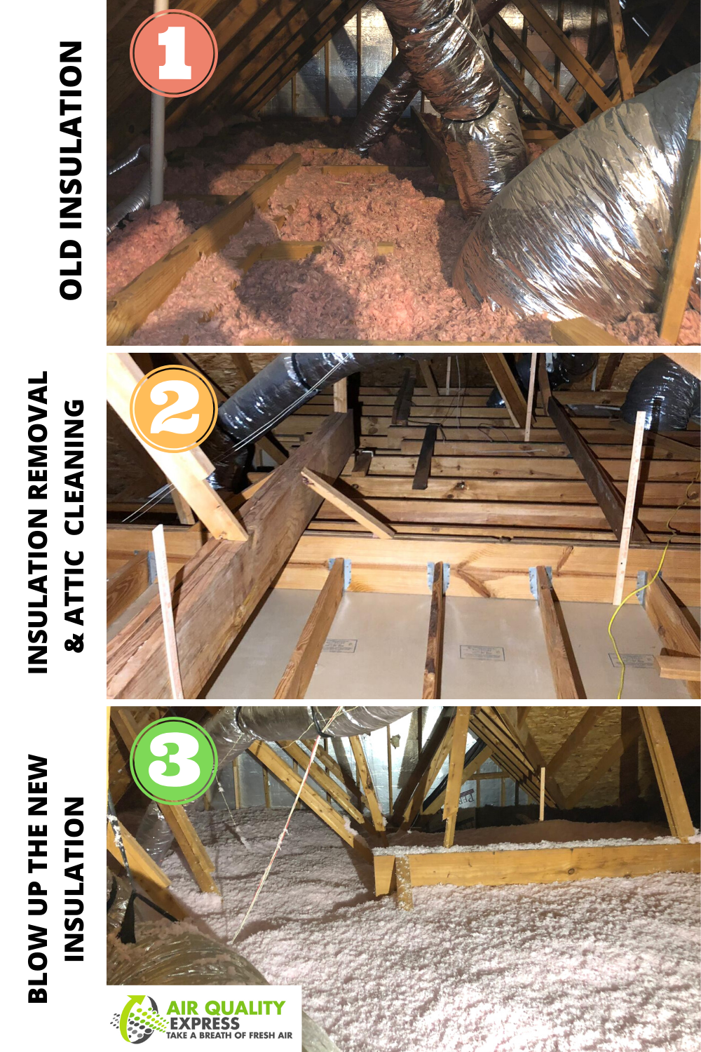 Attic Cleaning And Insulation In 2020 Attic Cleaning Attic Insulation