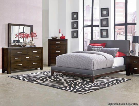 6pc Queen Bedroom set - Art Van Furniture | Bedroom Ideas ...