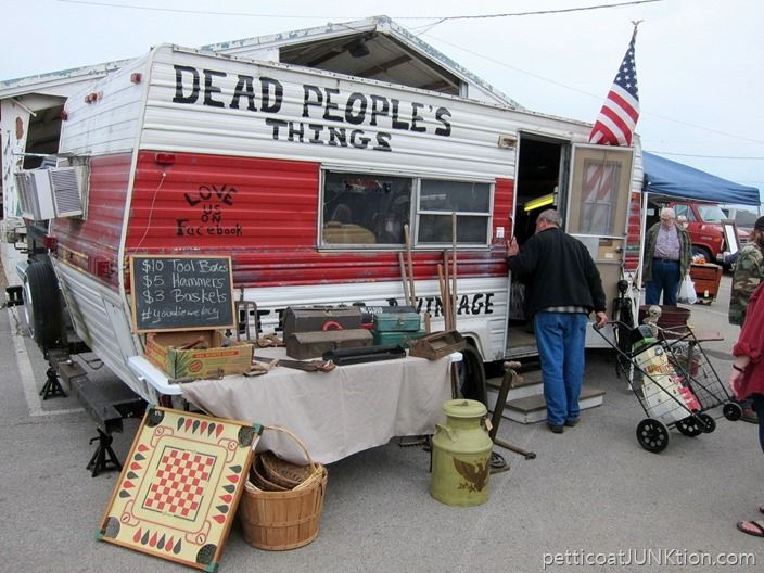 Dead Peoples Things Vendor Nashville Flea Market Ping Trip Petticoat Junktion