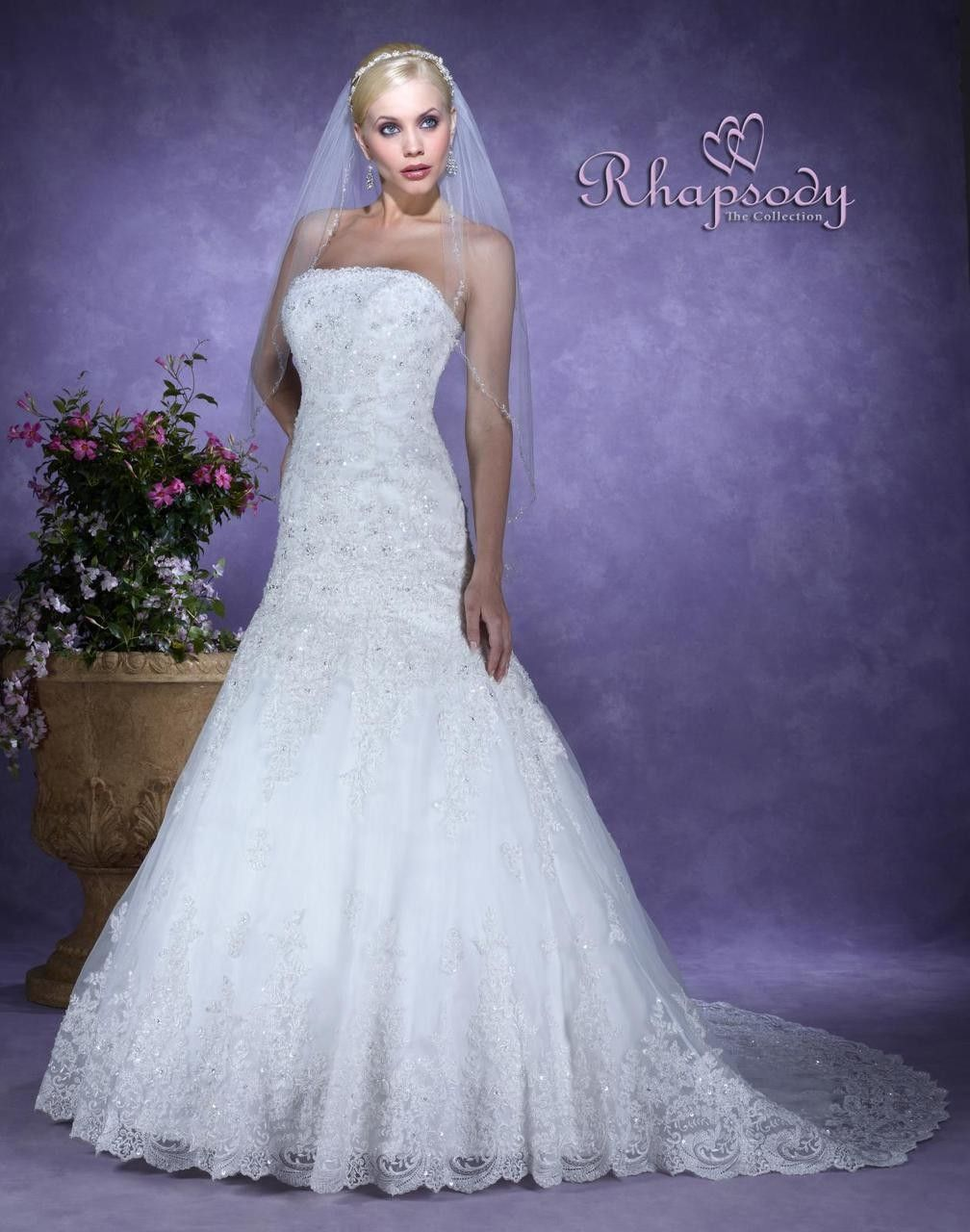 Symphony Wedding Dress - Style R7104 - Rhapsody Collection $379.99 ...