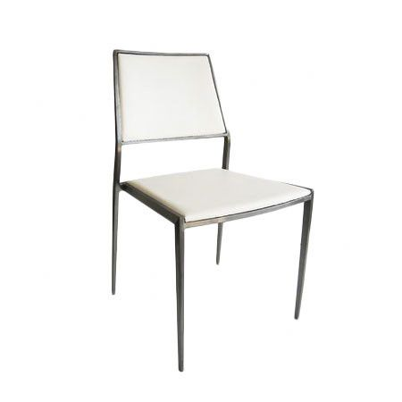 Swell I Pinned This Marcel Dining Chair In White From The Cjindustries Chair Design For Home Cjindustriesco
