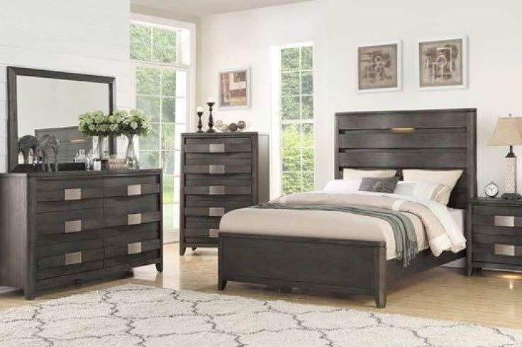 Contour 5 Piece Bedroom Set Bedroom Sets Queen Bedroom Set Bedroom Furniture Sets