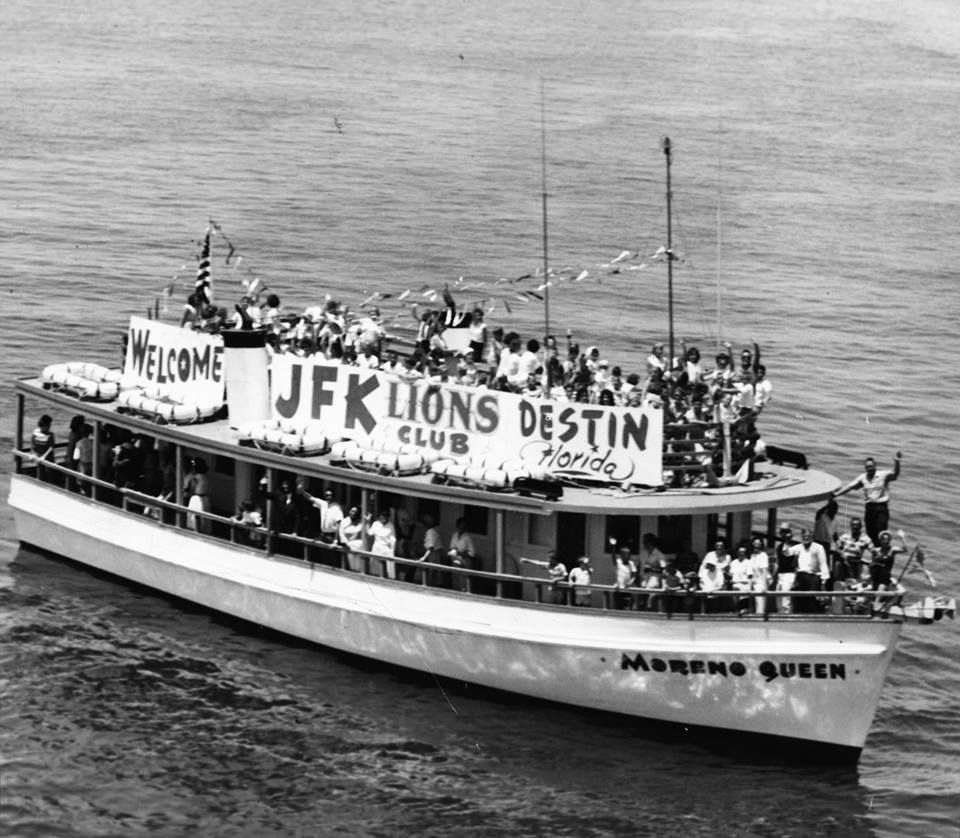 This Daily News file photo shows the Destin party boat
