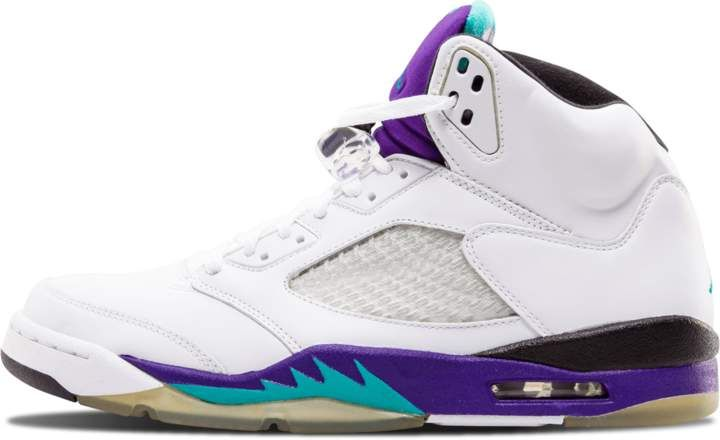 53551baae824f8 Jordan Air 5 Retro LS White Emerald Green