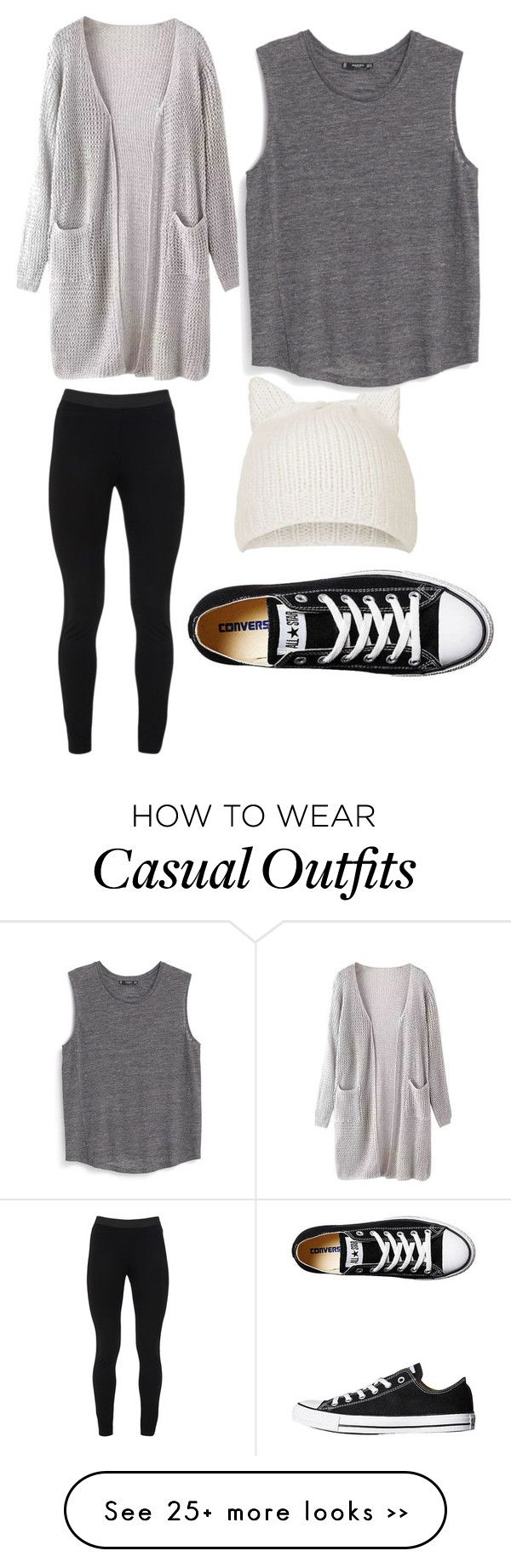 """""""casual"""" by mmariapadilla on Polyvore"""