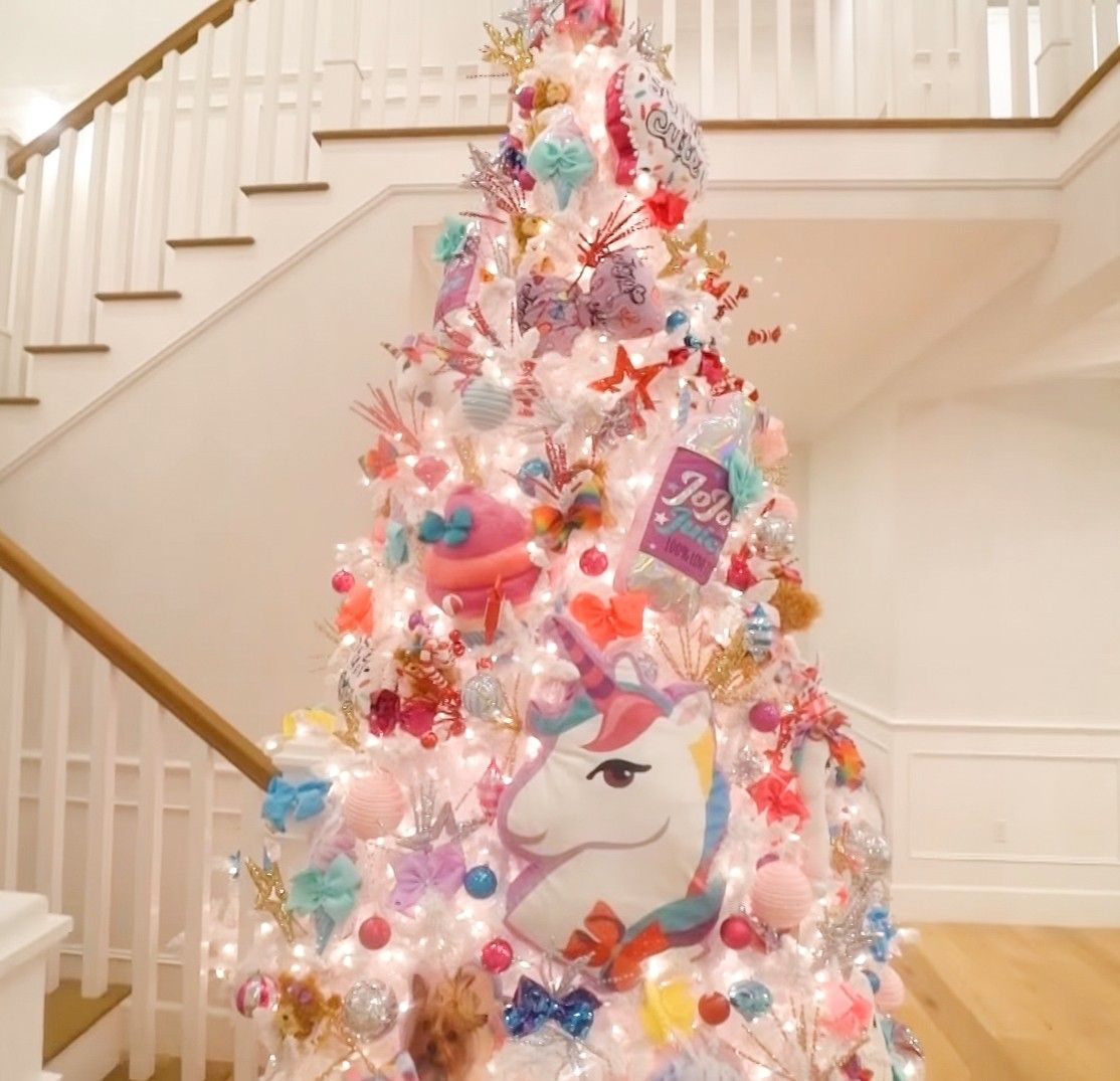 Unicorn Candy Christmas Tree Decorations Candy Christmas Tree Cute Christmas Tree Christmas Decorations For Kids