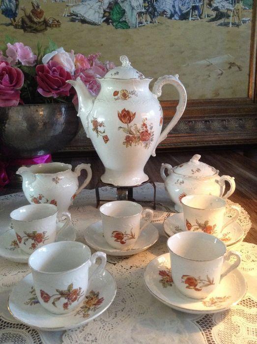 Online veilinghuis Catawiki: Societé Ceramique Maestricht - antiek thee servies