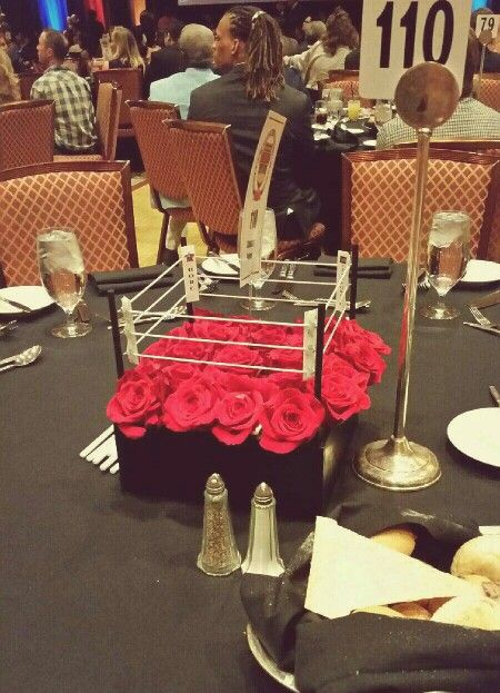 Cool Centerpiece At The Nevada Boxing Hall Of Fame