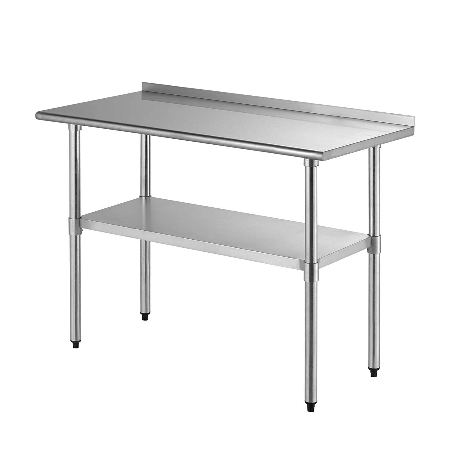 Amazon Com Suncoo Commercial Stainless Steel Work Table Food Grade Kitchen Prep Workbench Metal Resta Stainless Steel Work Table Metal Restaurant Coffee Table