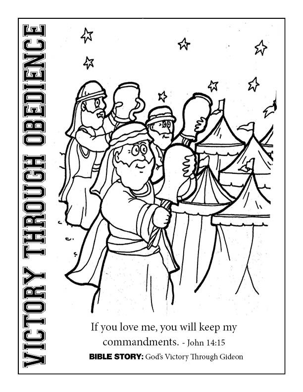 Day 2 Victory Coloring Sheet Sunday School Coloring Pages
