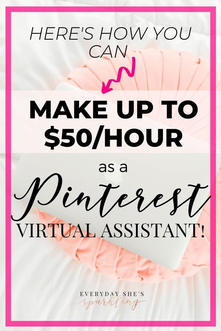 Make Money Working From Home As A Pinterest Virtual Assistant