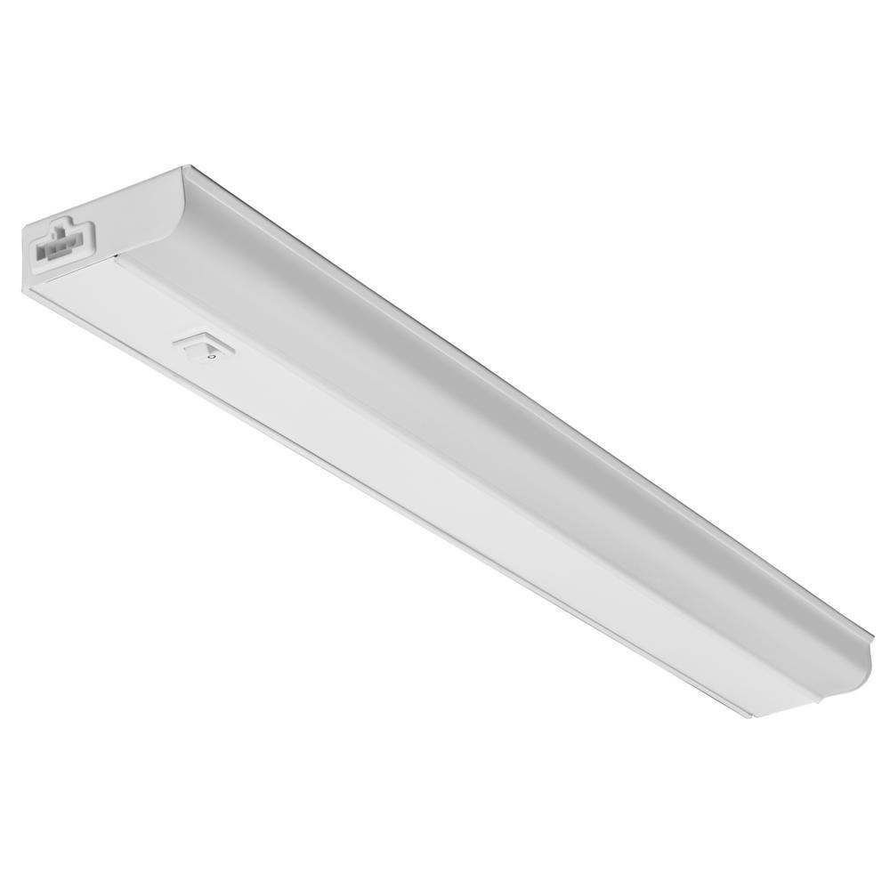 Lithonia Lighting Ucel 24 In Led White Linkable Under Cabinet Light