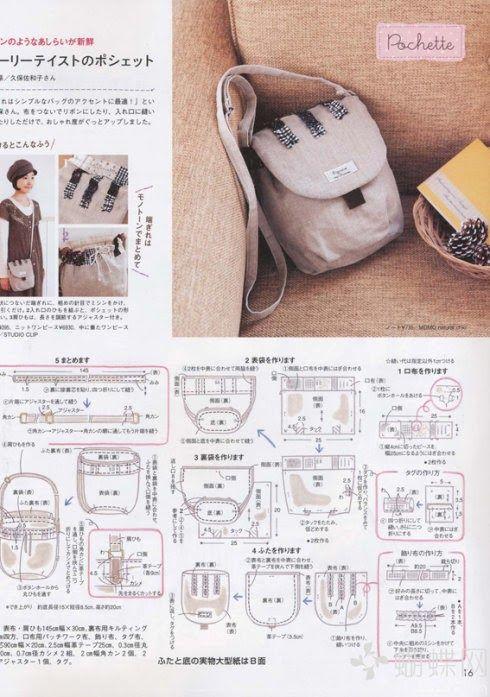 Oi meninas olha que lindas!!! | Things to make | Pinterest | Bolso ...