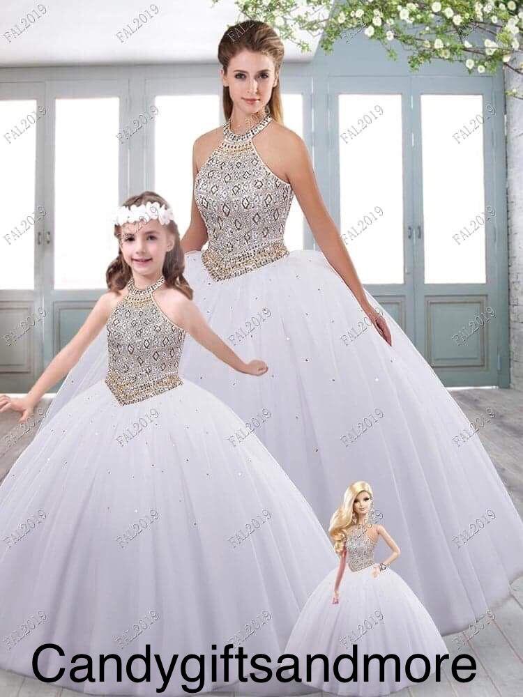 Blush Pink Mini Quinceanera Dresses