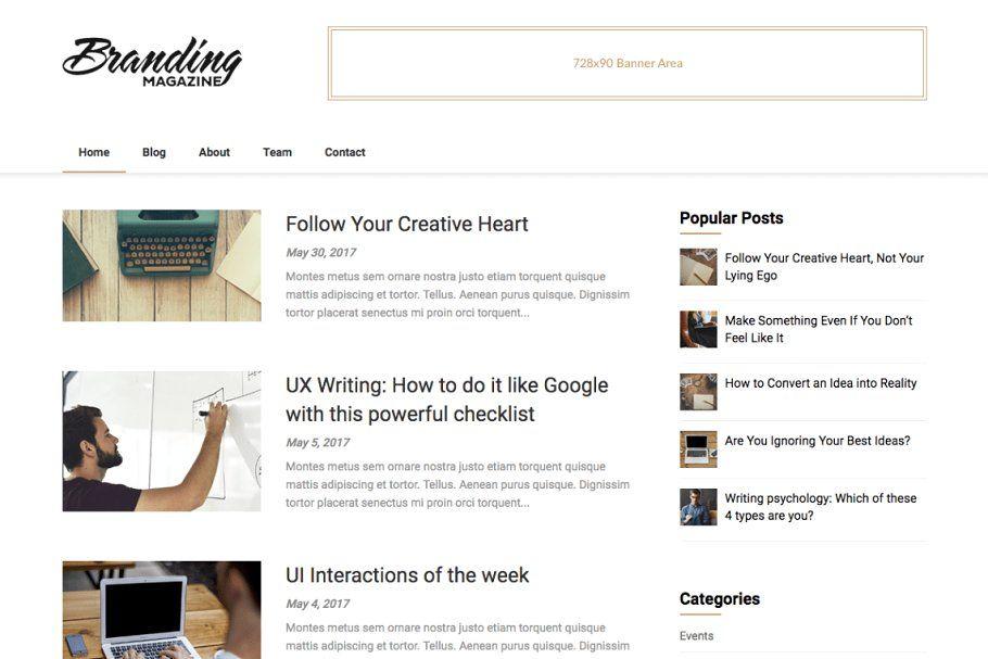Feather Magazine Premium Wordpress Theme Magazine Theme Wordpress Wordpress
