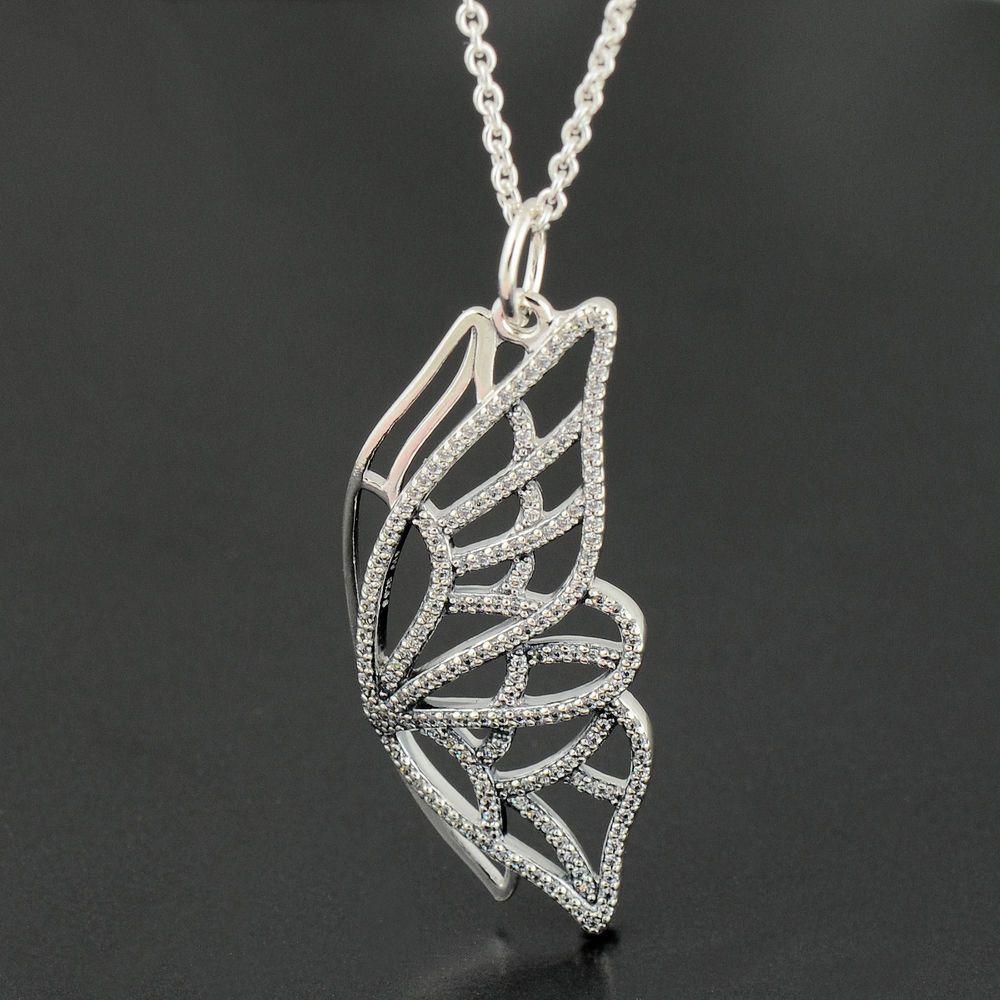Pandora New Beginning Butterfly Necklace 90cm  - 390367CZ-90