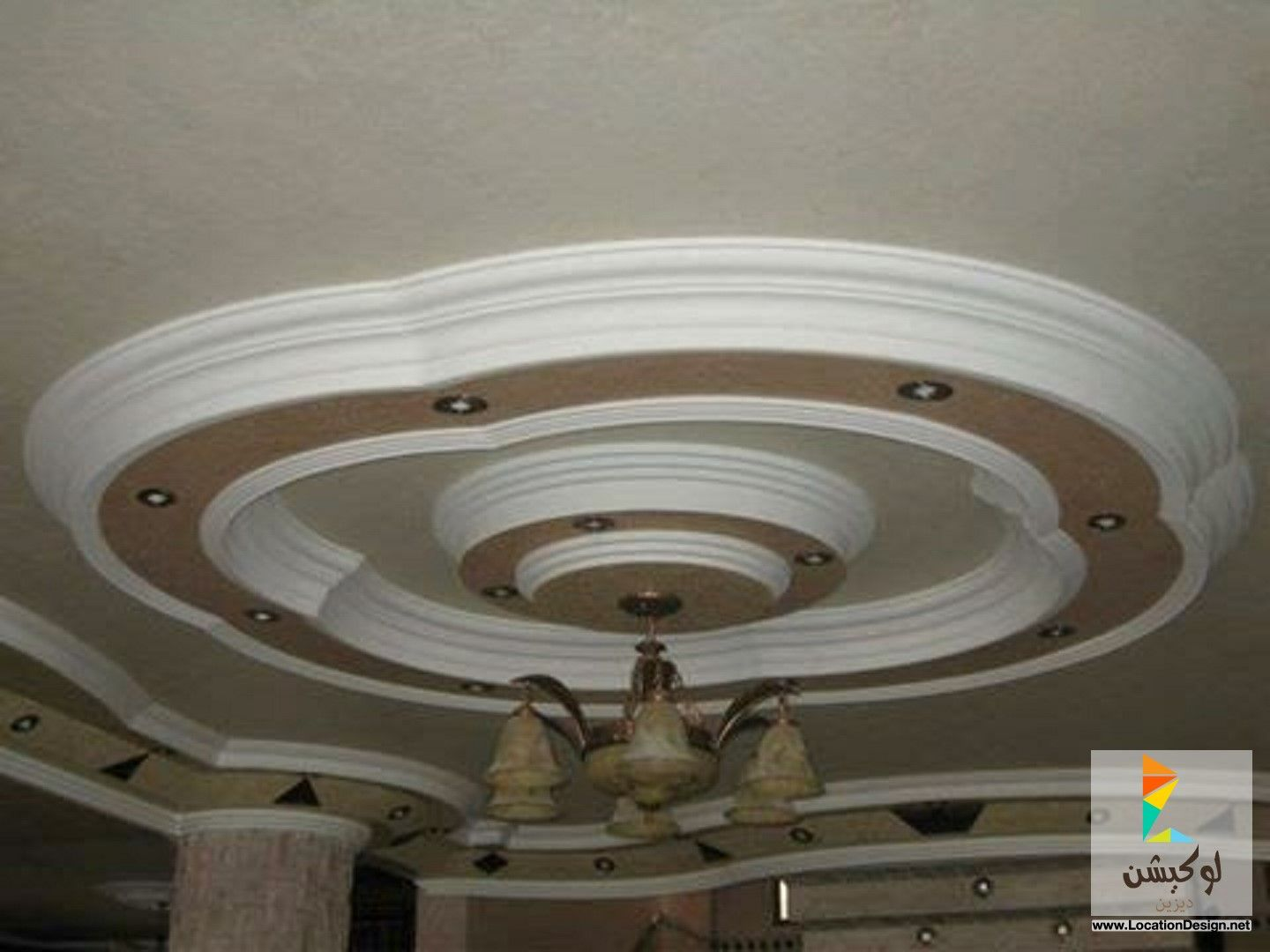 فورم جبس اسقف لوكشين ديزين نت Ceiling Lights Decor Home Decor