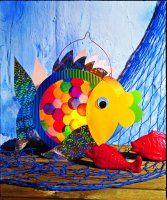 Der Regenbogenfisch Der Laternen Diy Laterne Herbst Lampiony