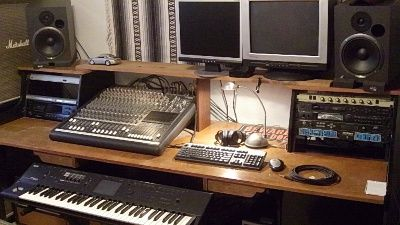 Awe Inspiring 17 Best Images About Music Studios Home Recording On Pinterest Largest Home Design Picture Inspirations Pitcheantrous