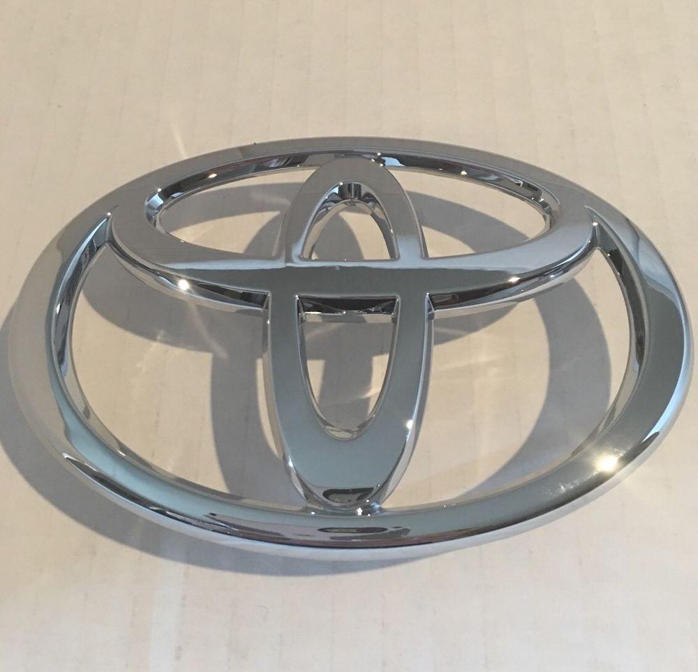2005 2006 2007 2008 toyota corolla front grille emblem chrome logo genuine oem