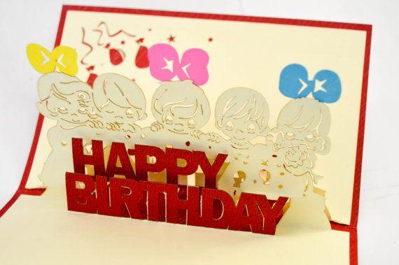Happy birthday greeting card 3d greeting card birthday gift greeting happy birthday greeting card 3d greeting card birthday gift greeting card fun birthday present greeting card m4hsunfo
