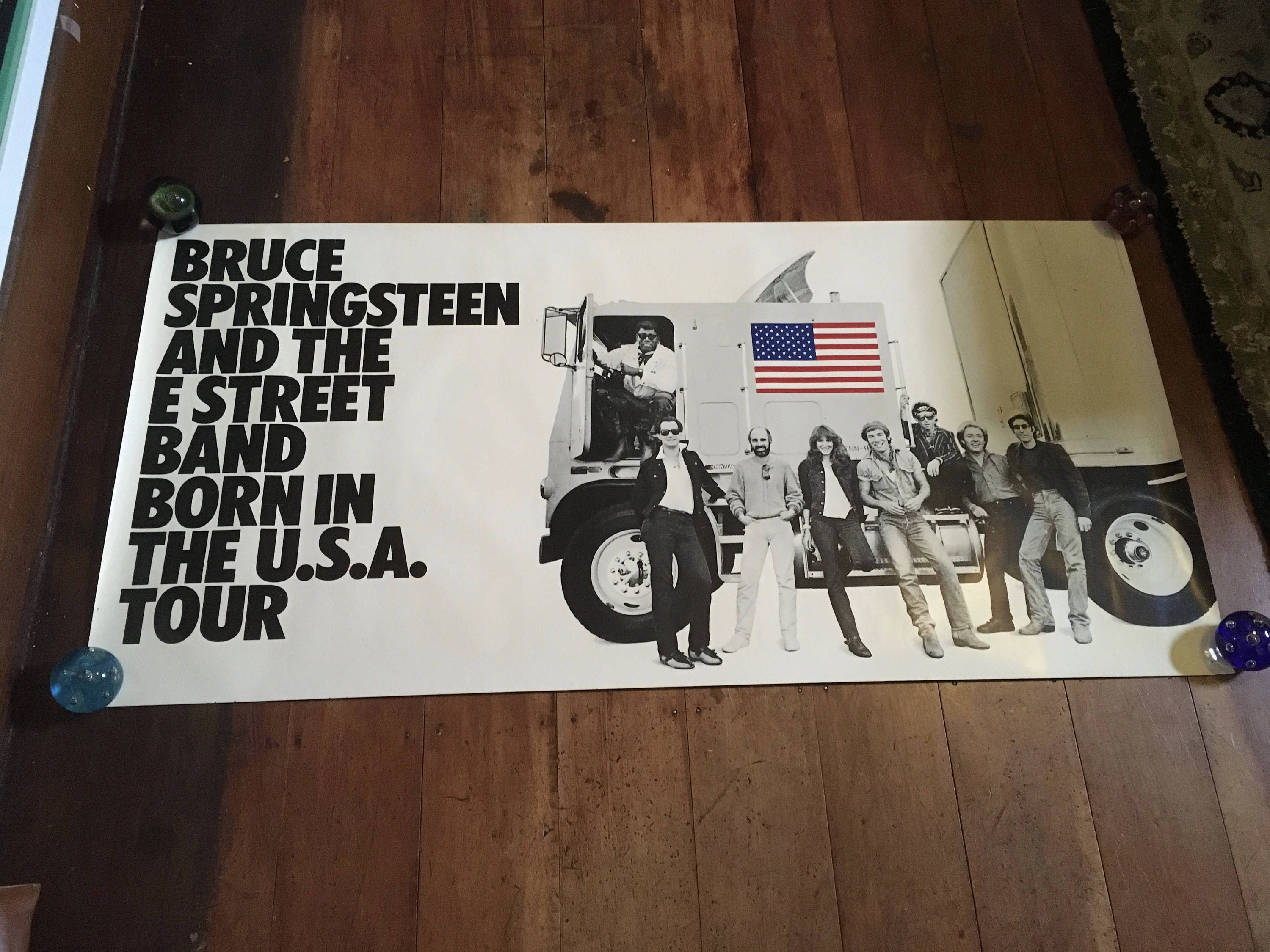 Bruce Springsteen The E Street Band Born In The U S A Tour 1984