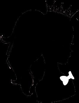 Hermosa Silueta Princess By Designsmay On Deviantart Silhouette Painting Silhouette Art Silhouette Clip Art
