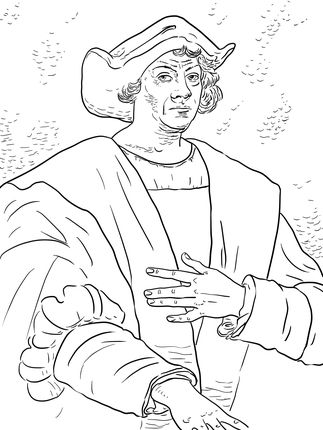 Christopher Columbus coloring page | SCA Kids | Pinterest ...