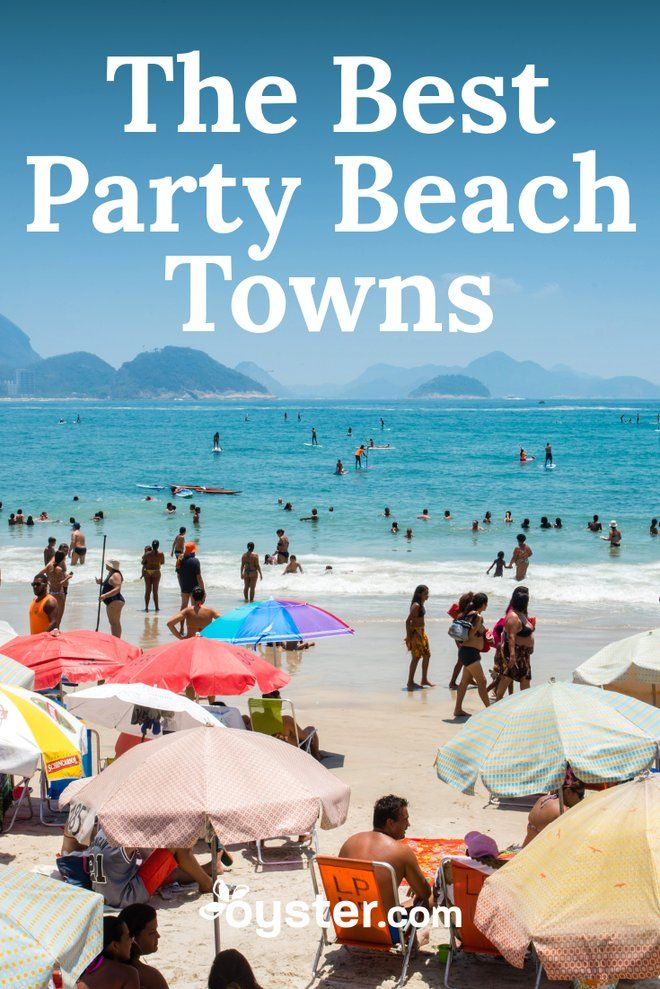 The 10 Best Party Beach Towns in the World   Beach Bound