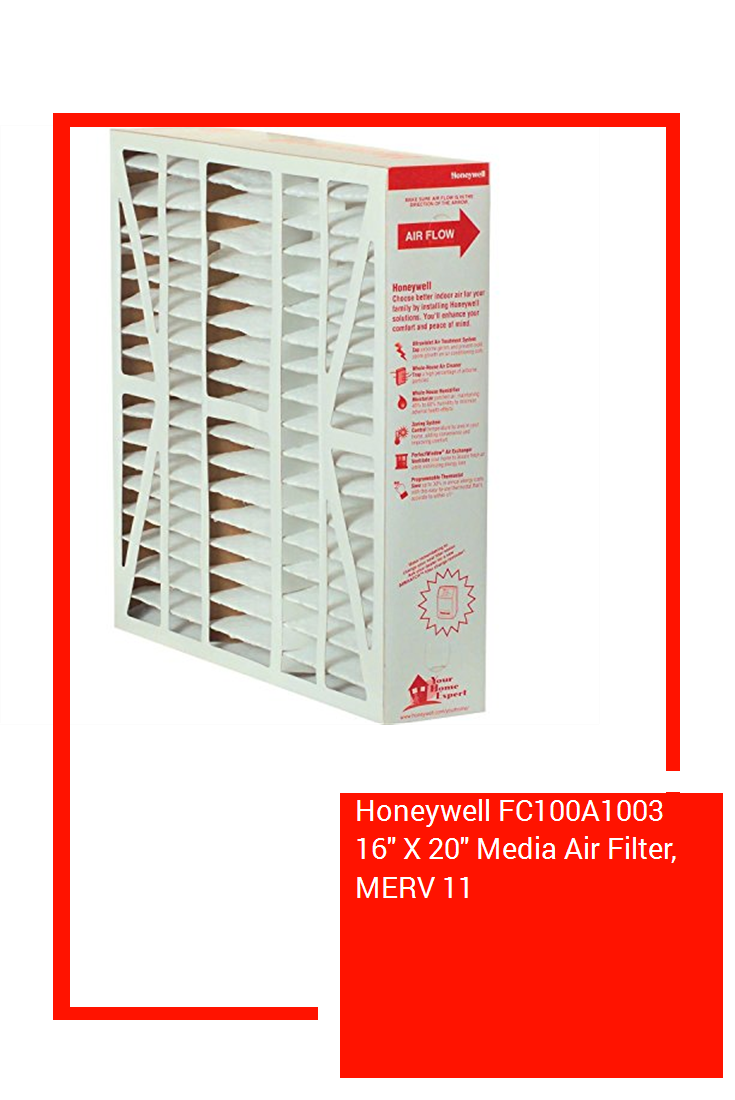 Honeywell FC100A1003 16″ X 20″ Media Air Filter, MERV 11