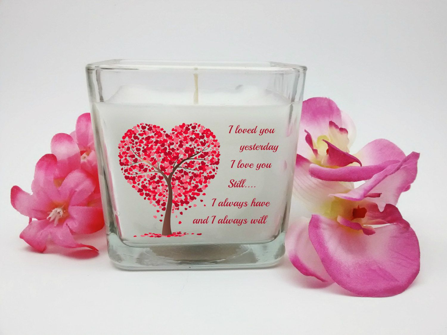 Valentine's Day, Love You, Candle, Heart Candle, Valentine's Gift ...