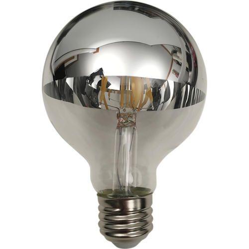 Led Strip Lights Menards Meridian 40W Eqg25 Chrome Top Led Vintage Bulb At Menards
