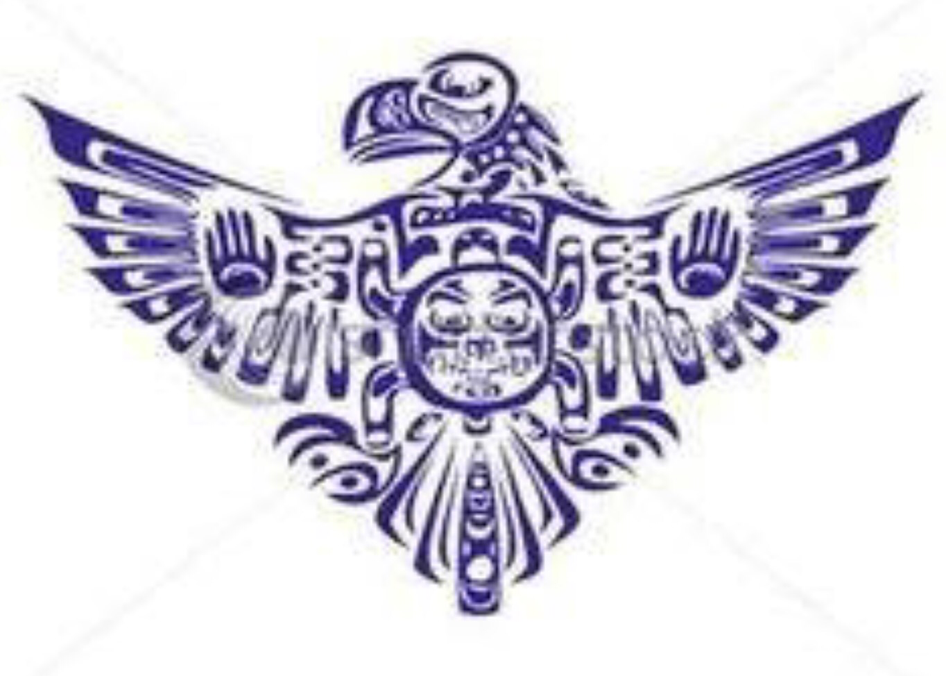Native American Thunderbird Symbol Gallery Art Motif Pinterest