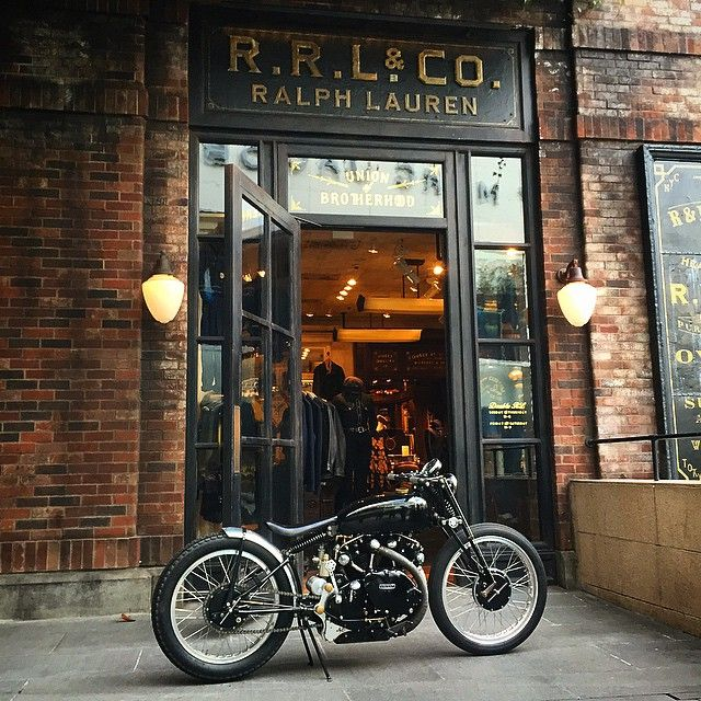 Beautiful retro bike