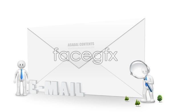 Envelopes And 3D Cur PSD PSD Pinterest Envelopes And Creative