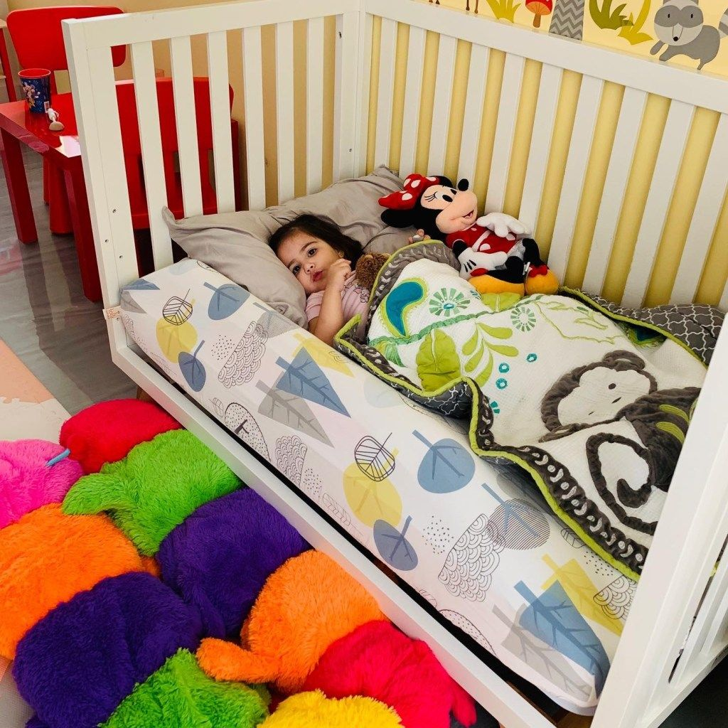 Easy Diy Toddler Bed Rail Bumper Solution For Kids Falling Out