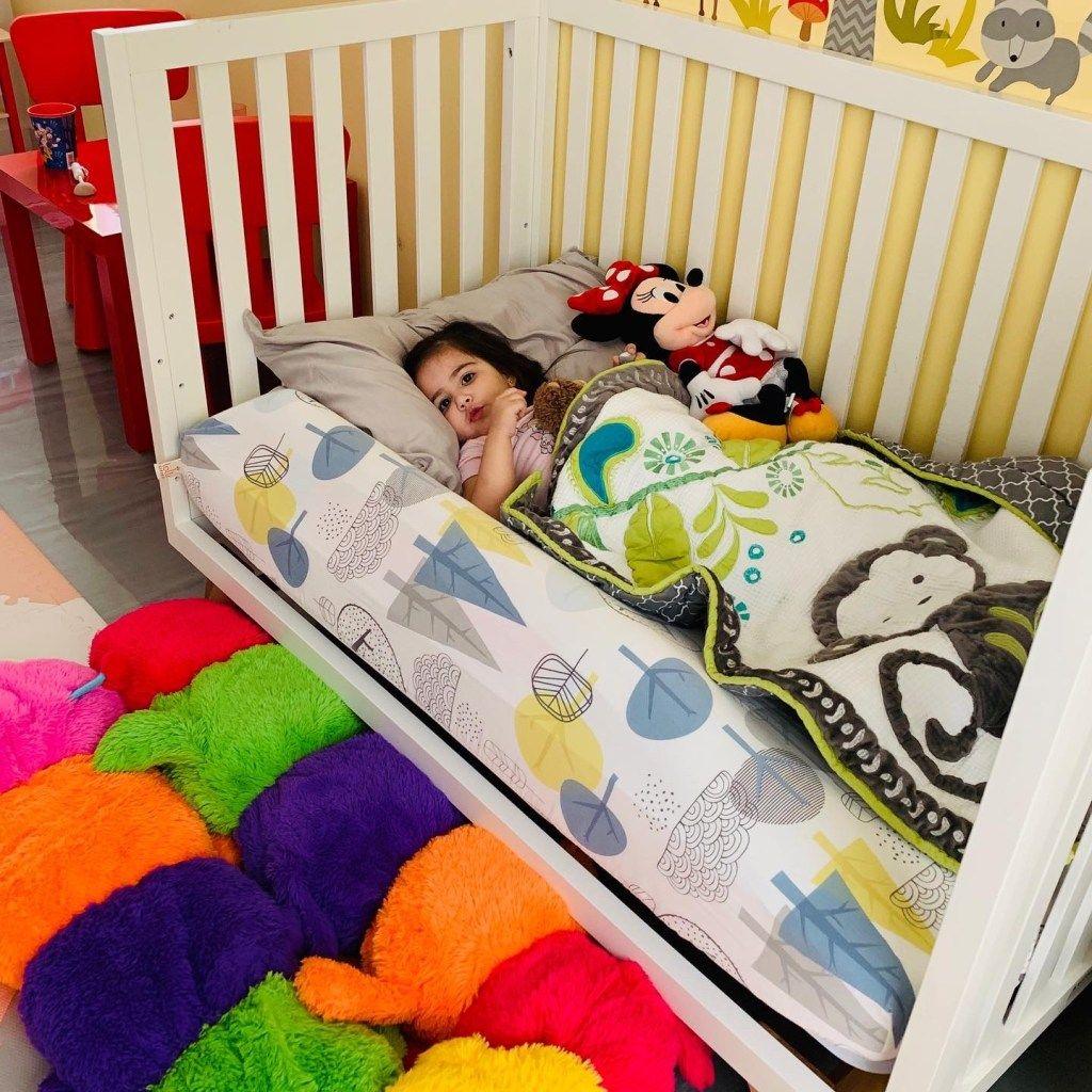 Easy Diy Toddler Bed Rail Bumper Solution For Kids Falling Out Of Bed Diy Toddler Bed Diy Kids Bed Bed Rails For Toddlers Guard rail for toddler beds