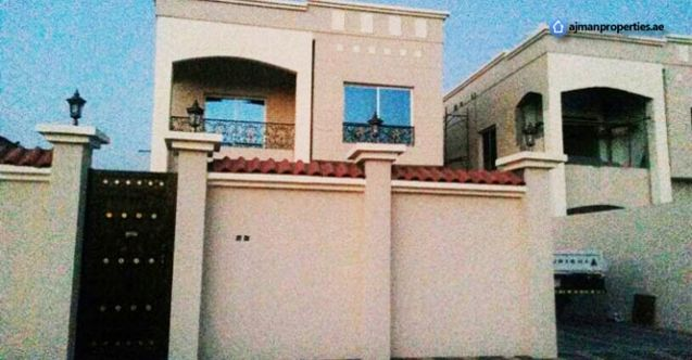 Brand New 5 Bedroom Villa Near The Emirates Road Is Available For Sale In Al Zahra Ajman This Villa Have 5 Master Bedrooms A Property For Sale Freehold Ajman