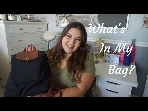 a5ace55e1713 What's In My Bag | 2018 - YouTube | YouTube | Pinterest | Youtube ...
