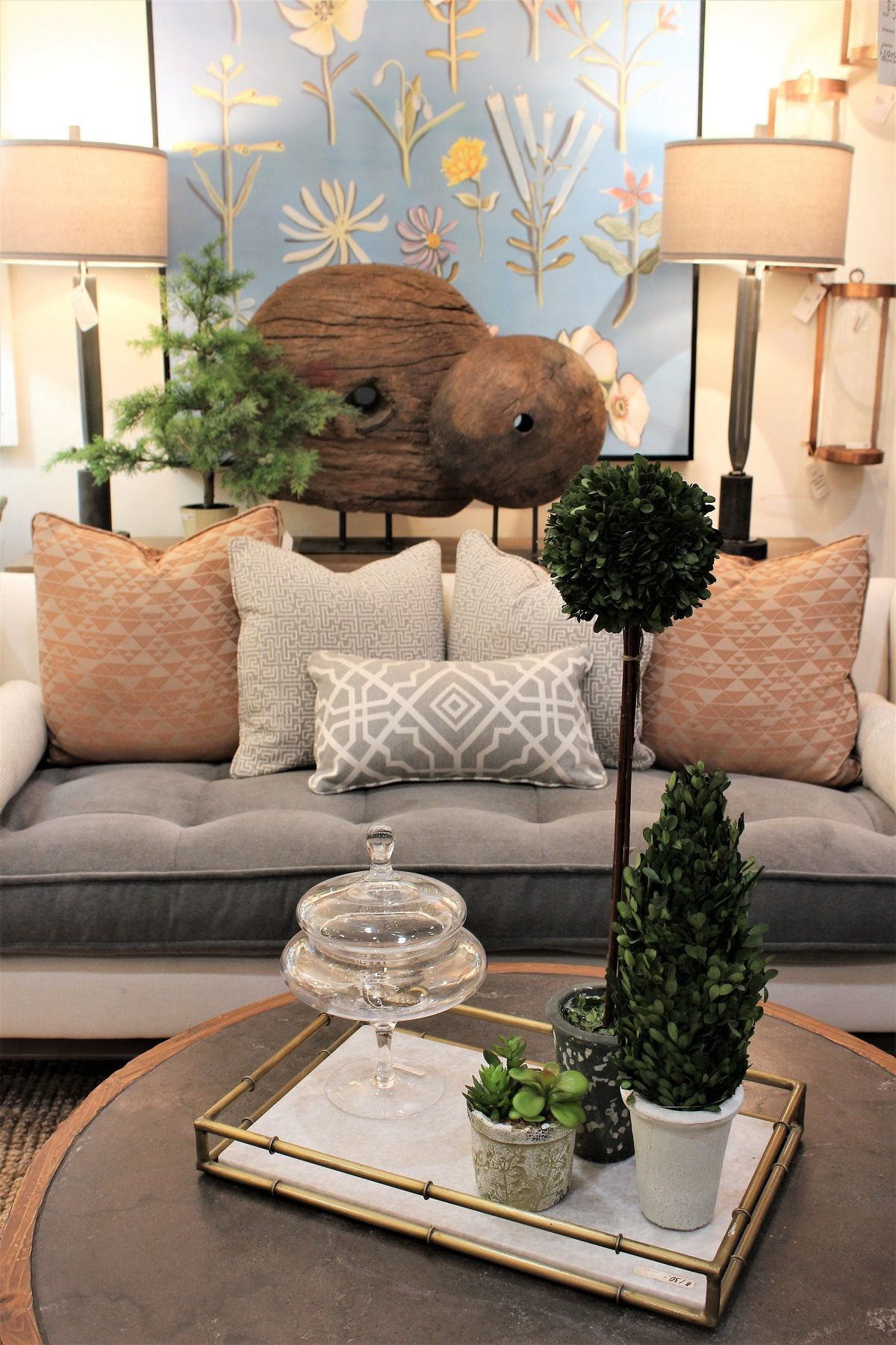 Add A Touch Of Nature To Your Living Room For A Calming Inviting