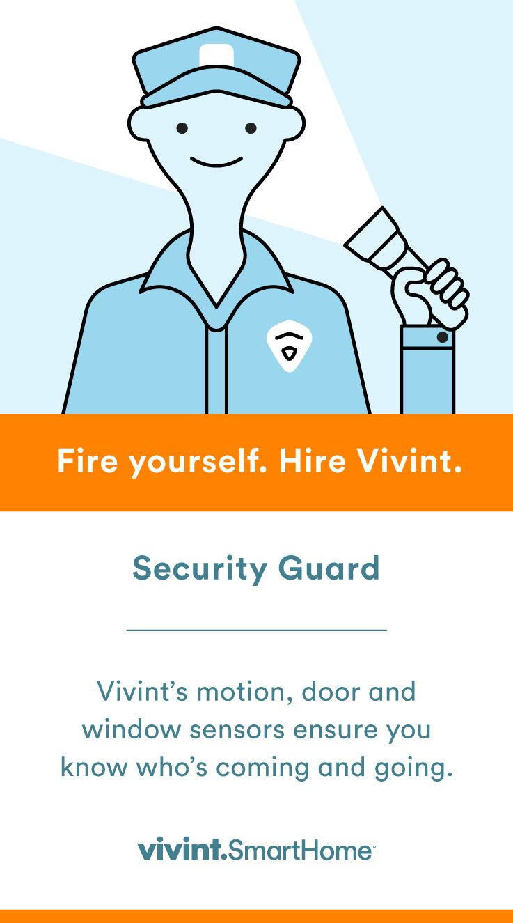 Sleep Peacefully At Night Knowing You Have Vivint As Your Security Guard Motion Door And Window Sensors Smart Home Security Smart Home Automation Smart Home