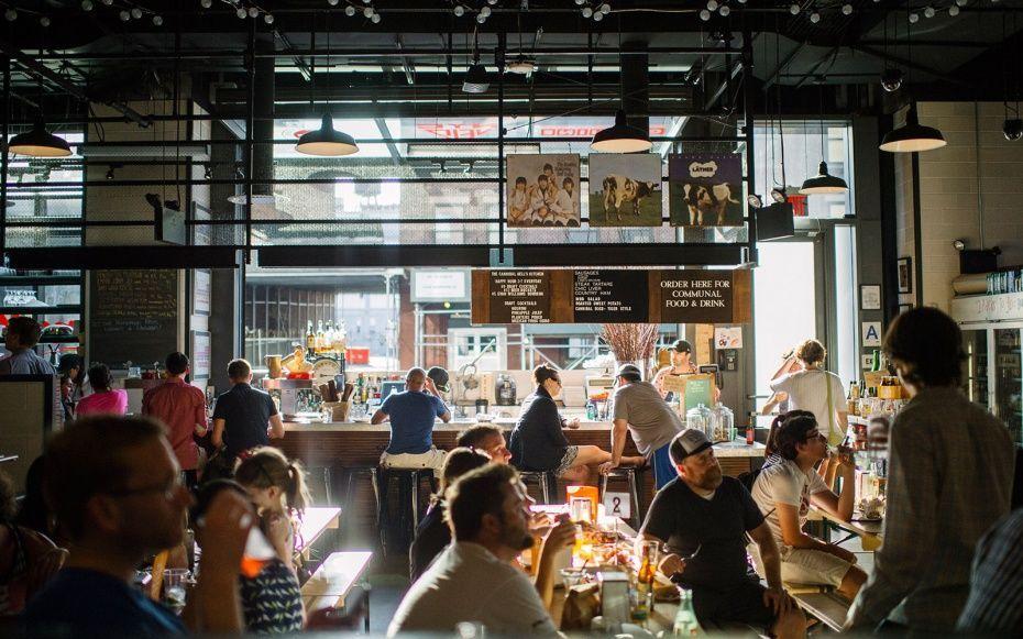 Food Hall Interior + Food Hall