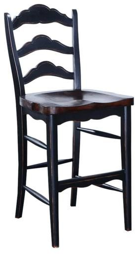Luxury Ladder Back Counter Stools
