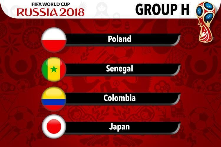 Fifa World Cup 2018 All 8 Groups From A To H With Images World Cup Groups