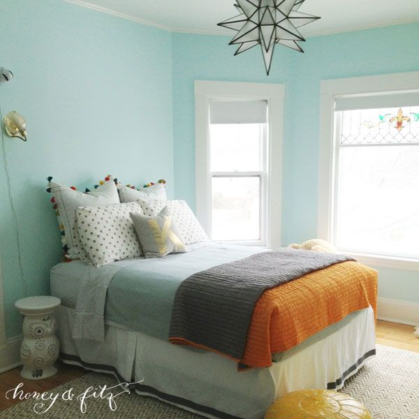 Bedroom Paint Ideas Teal Yellow And Black Bedroom Decorating Ideas Bedroom Ideas Shabby Chic Bedroom Furniture Kabat: Benjamin Moore Barely Teal